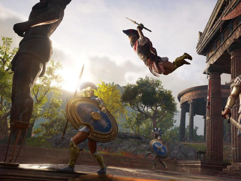 Gamescom 2018 Assassins Creed Odyssey