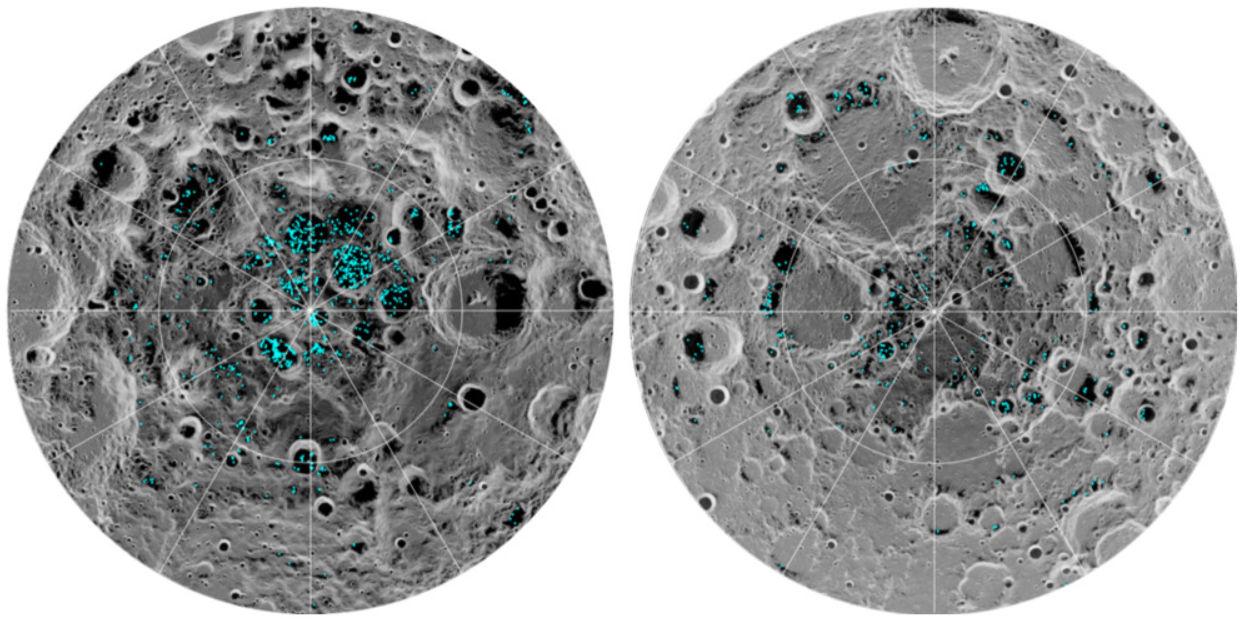"""Científicos confirman la existencia """"definitiva"""" de hielo en la Luna 29"""