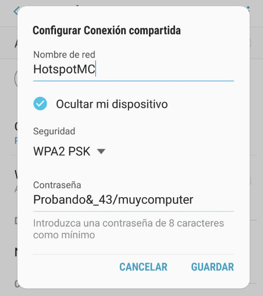 Cómo convertir un smartphone en un punto de acceso Wi-Fi 40