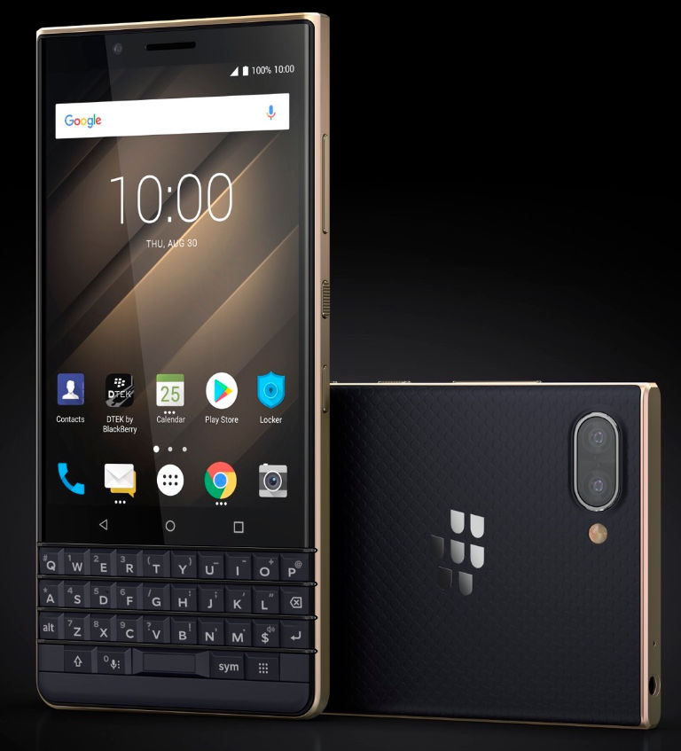 BlackBerry anuncia el KEY2 LE 34