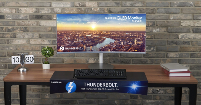 Samsung comercializa el primer monitor curvado con Thunderbolt 3 33