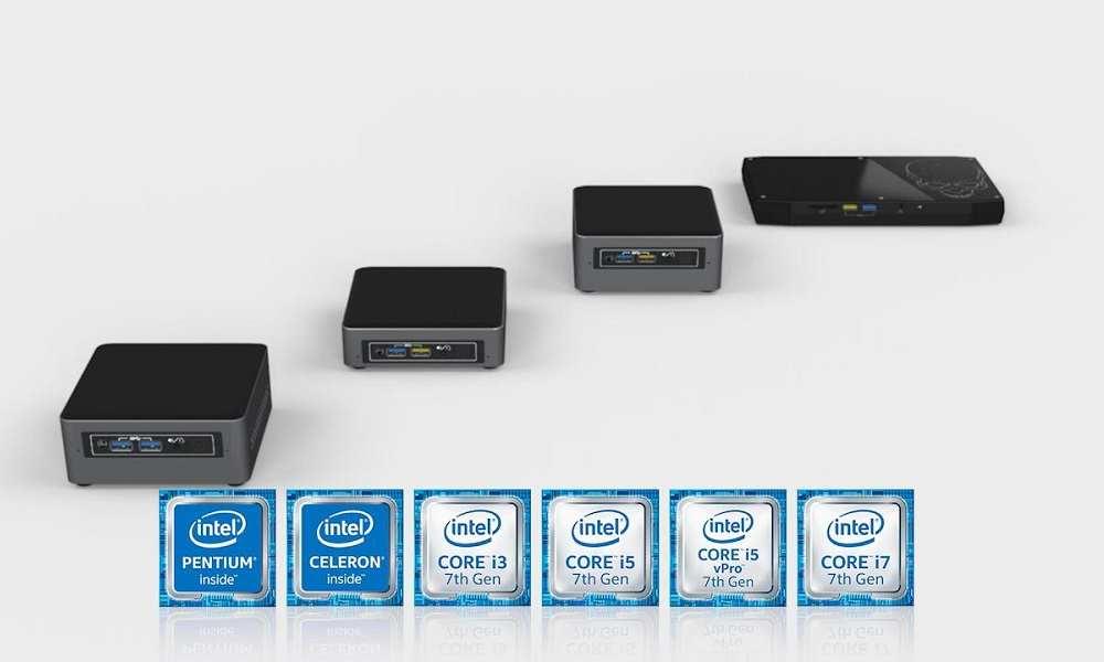 Intel anuncia nuevos kits NUC y mini PCs NUC con CPUs Core y GPU Radeon RX 30