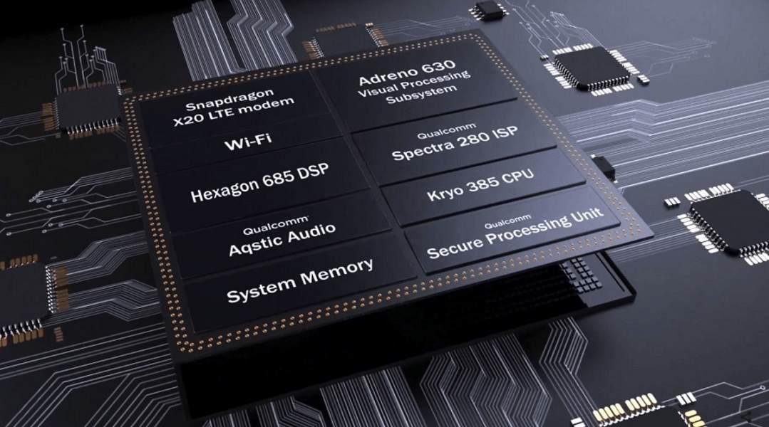 El SoC Snapdragon 855 estará equipado con un chip para IA 31