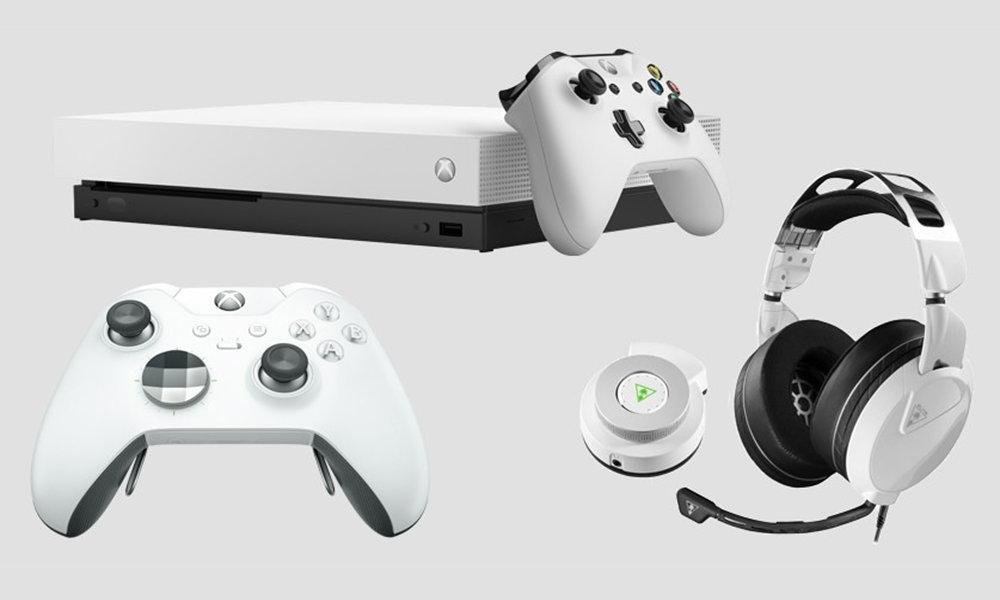 Xbox One X blanca