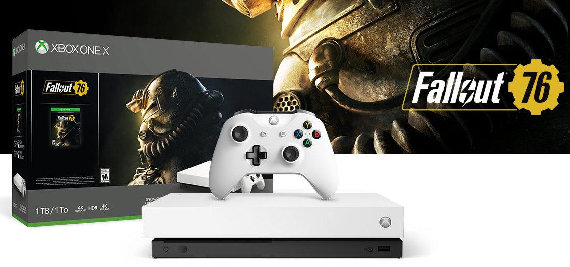 Nueva Xbox One X con Fallout 76, controlador y cascos Elite 2 29