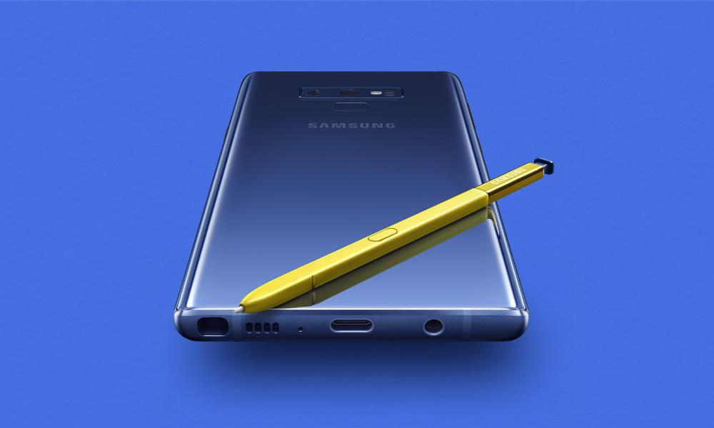 Samsung Galaxy Note 9, disponible 33