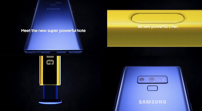 Precio del Galaxy Note 9: 1.029,99 euros en Europa 31