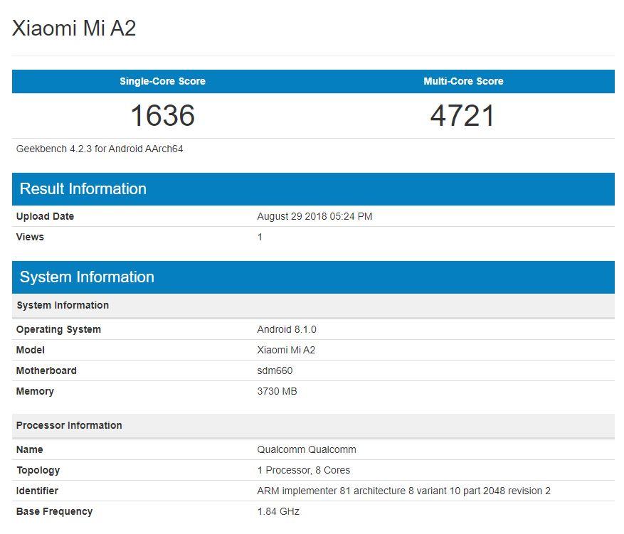 Xiaomi Mi A2, análisis 31