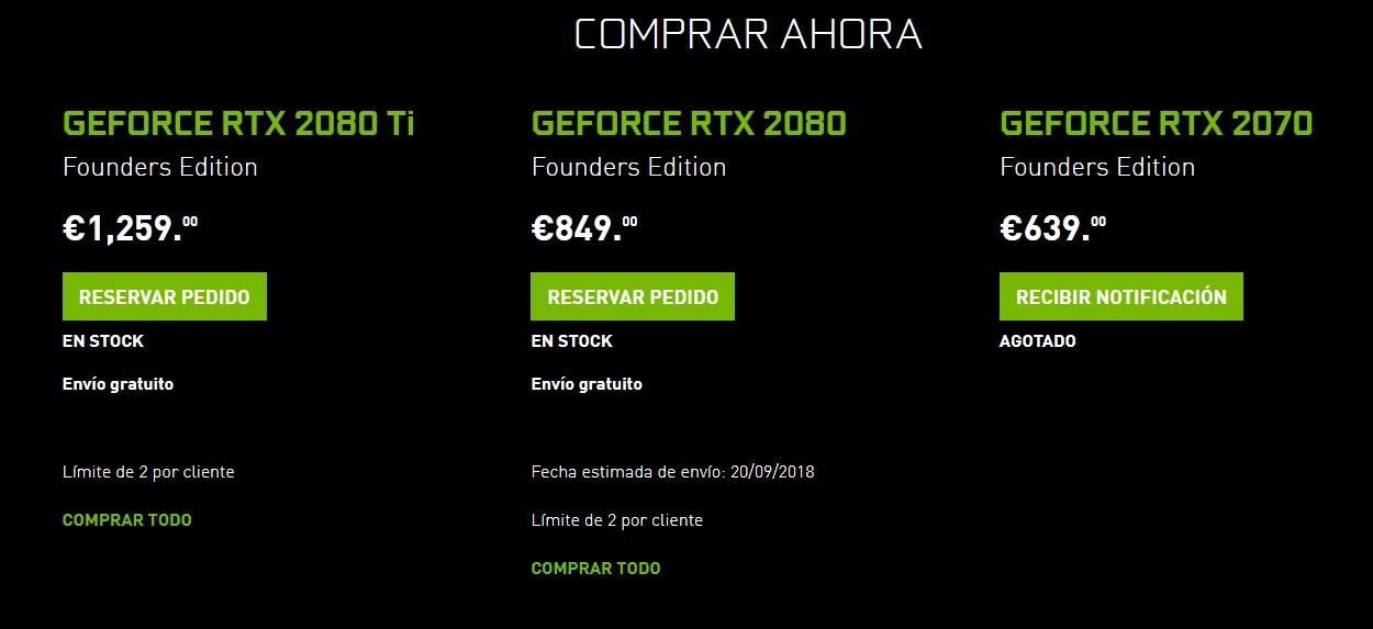 GeForce RTX 20 Founders Edition: NVIDIA compite con las ensambladoras 35