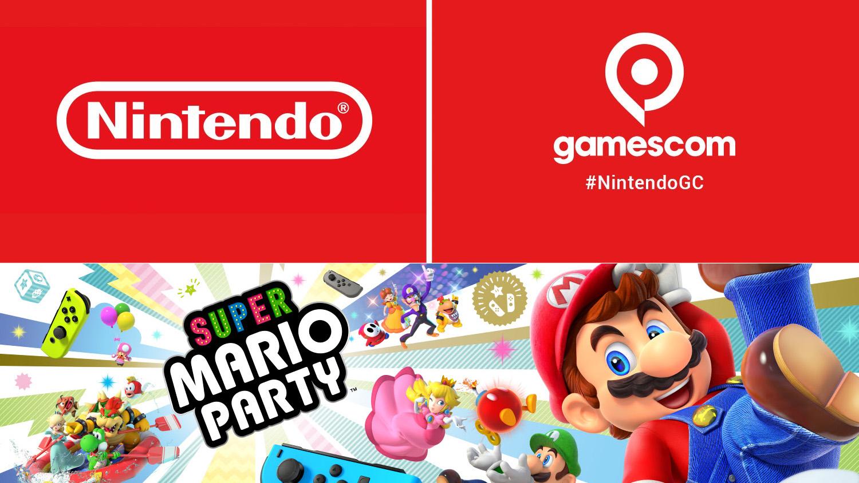 Nintendo Gamescom Super Mario Party