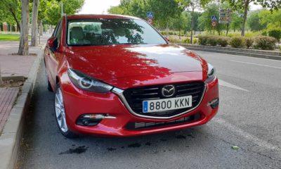 Mazda 3 sedán, suavidad 100
