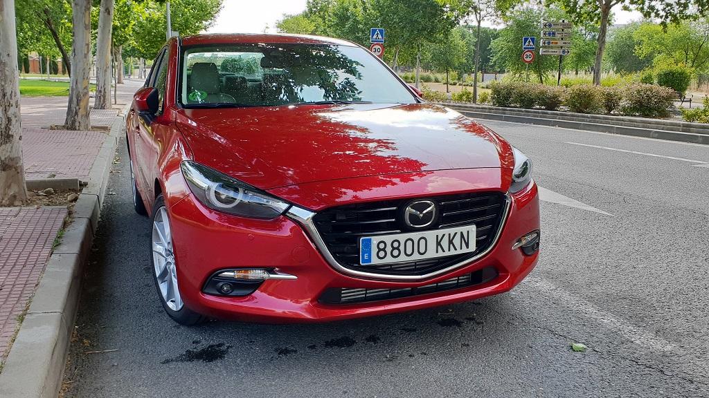 Mazda 3 sedán, suavidad 29