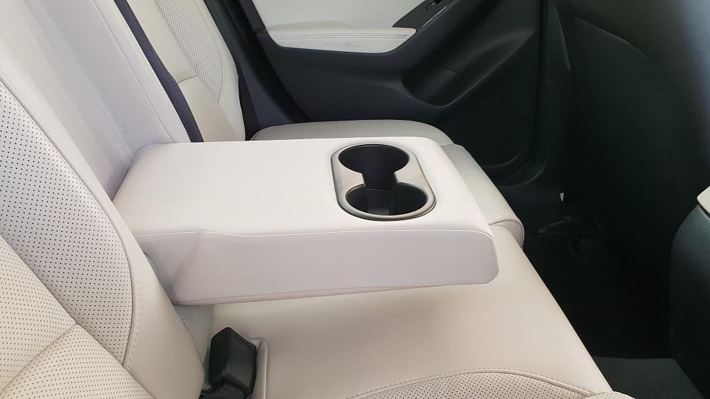 Mazda 3 sedán, suavidad 37