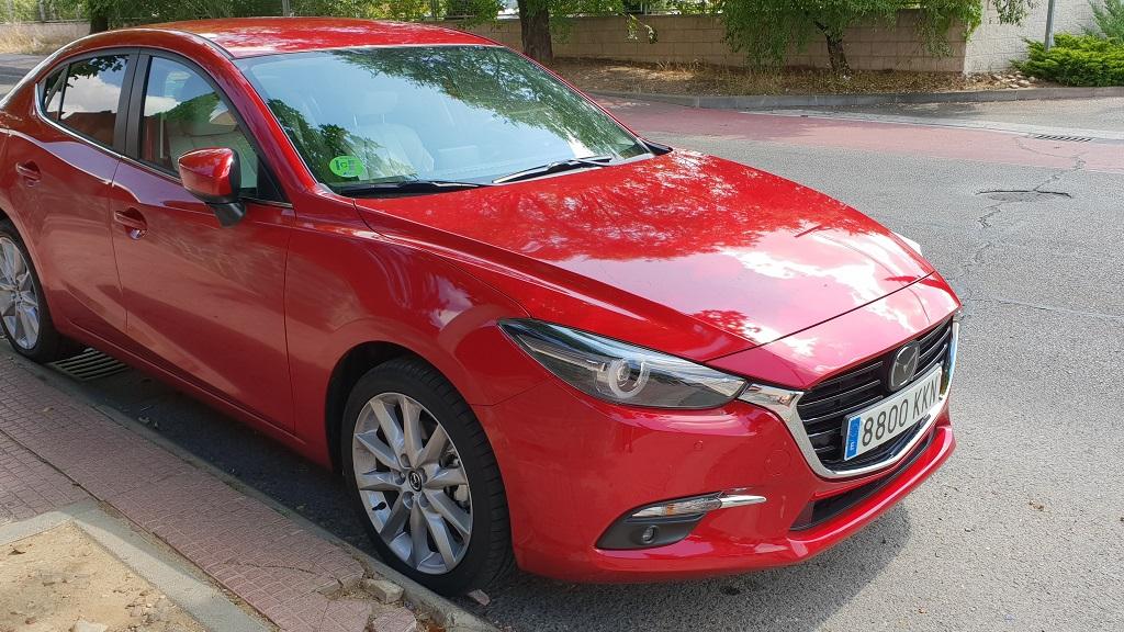 Mazda 3 sedán, suavidad 43