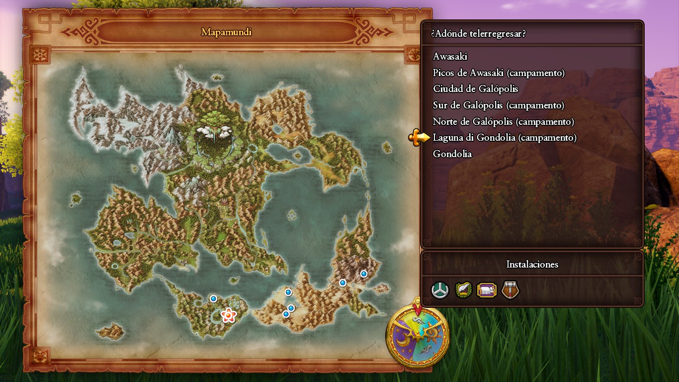 Dragon Quest XI Mapa