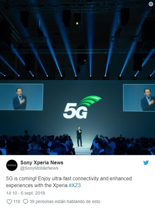 Xperia XZ3: Sony confirma que será compatible con 5G (actualizada) 32