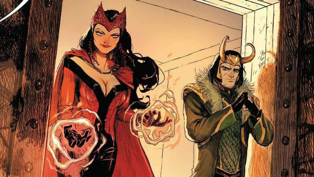 Loki y la Bruja Escarlata estrenarán serie en Disney Play 28
