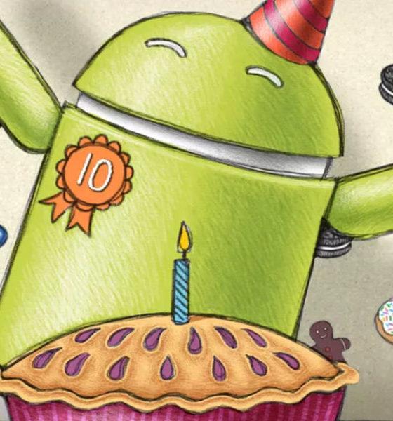 10 años de Android