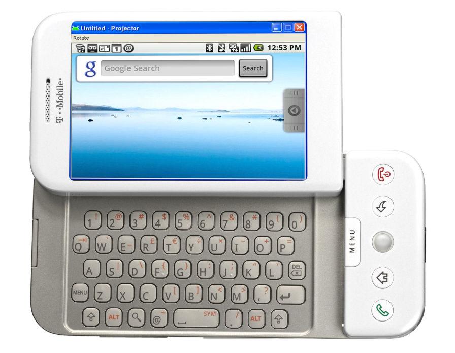 10 años de Android 1.0 y el primer smartphone de la plataforma 29