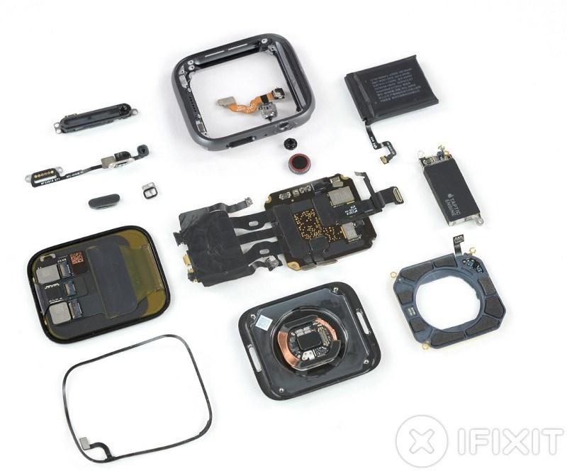 Despiece del Apple Watch Series 4: así es lo nuevo de la manzana mordida 41
