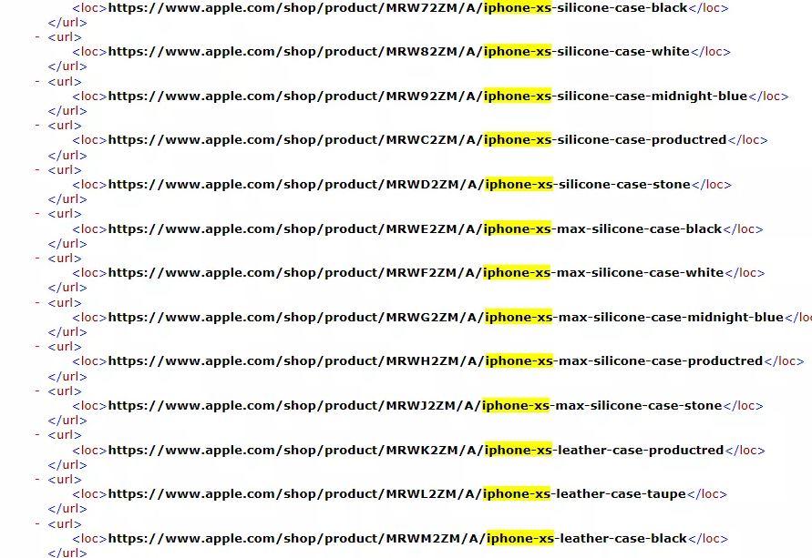 Apple confirma, por error, los nombres de los nuevos iPhone 31
