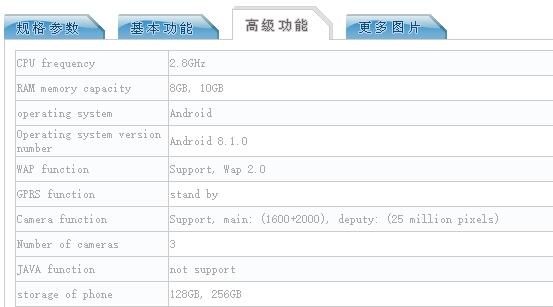 Características del Oppo Find X