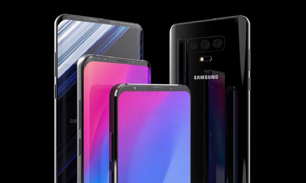 Rumores apuntan a que un modelo de Galaxy S10 tendrá pantalla plana