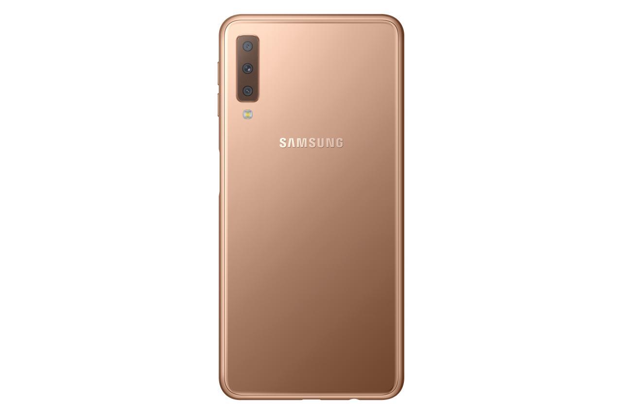 Samsung estrena triple cámara trasera en el Galaxy A7 2018 29
