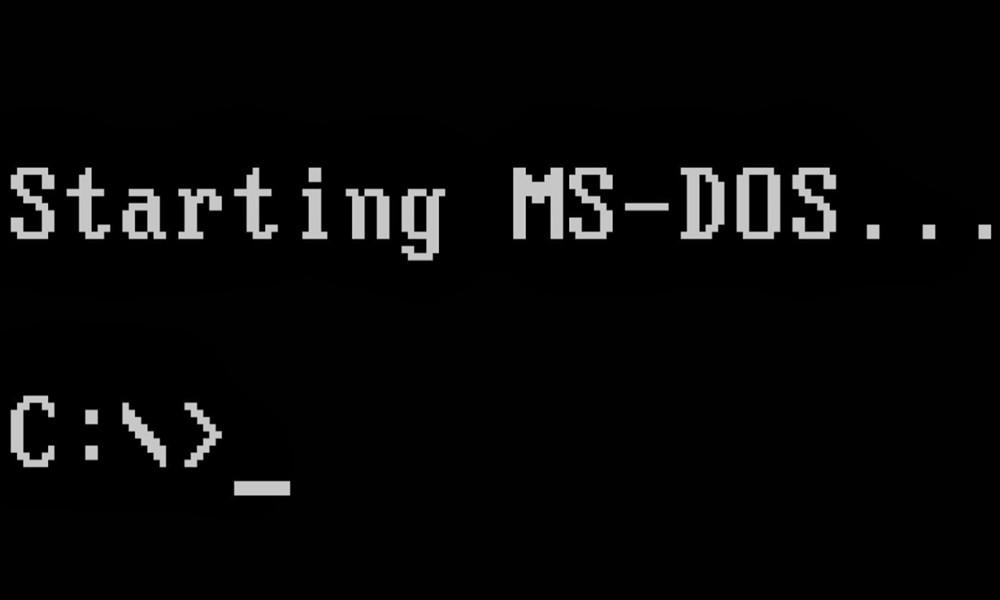MS-DOS en GitHub
