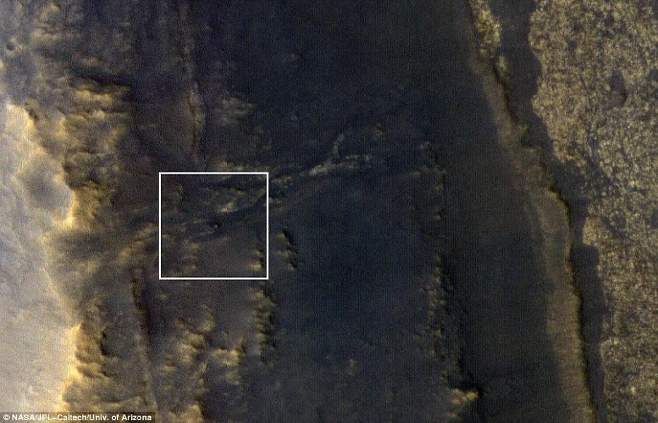 La Mars Reconnaissance Orbiter capta una imagen del rover Opportunity 35