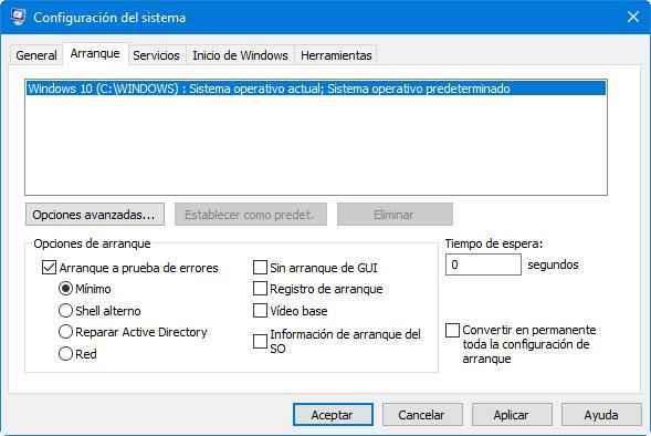 """Por qué el """"modo a prueba de errores"""" es fundamental ante los fallos de Windows 10 39"""