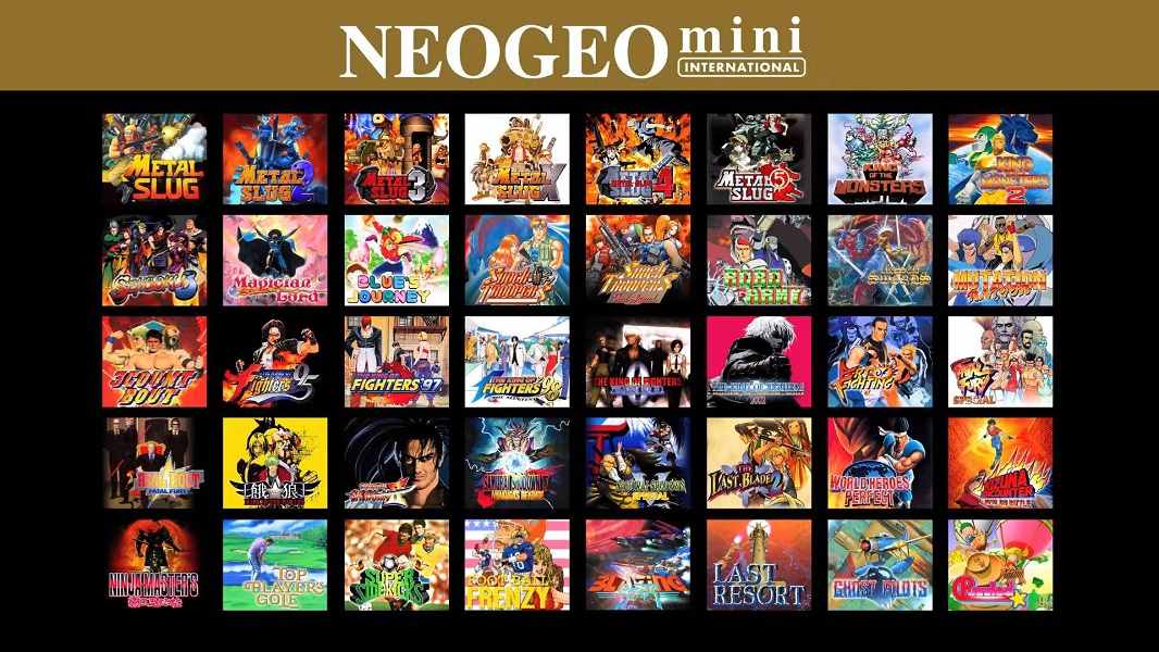 Neo Geo Mini: 10 de septiembre en Europa, costará 129,99 euros 30