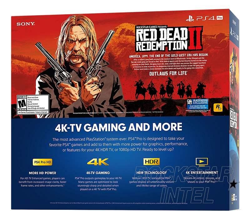 Red Dead Redemption 2 requiere 105 GB de espacio en PS4 Pro 29