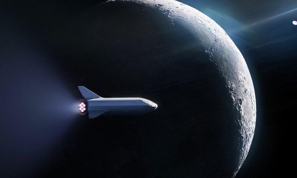 SpaceX planea enviar un pasajero a un viaje alrededor de la Luna