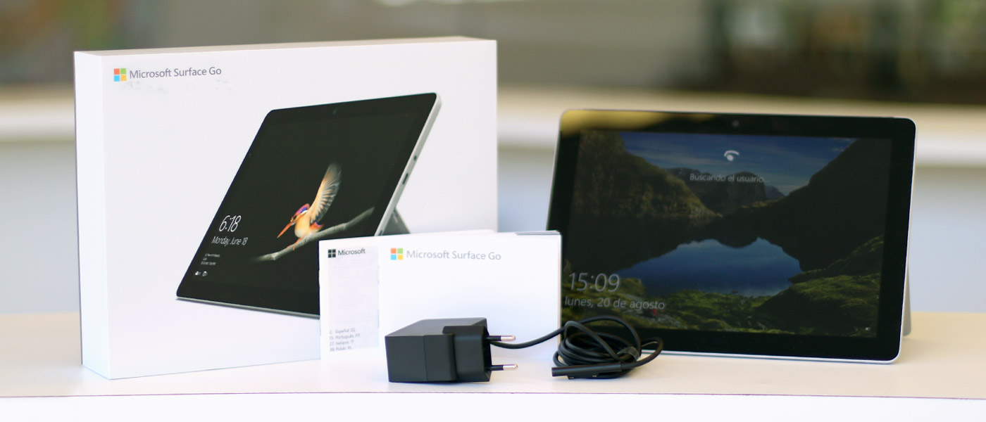 Microsoft Surface Go, análisis 32