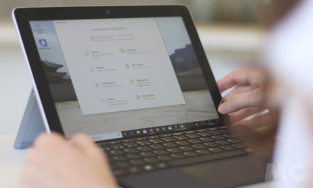 Microsoft Surface Go, análisis 40