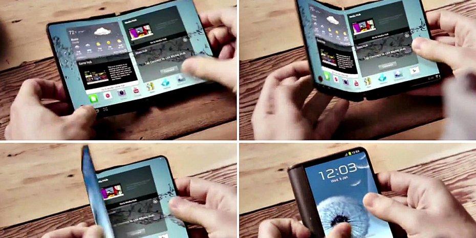 Samsung Flex, el smartphone plegable toma forma 31