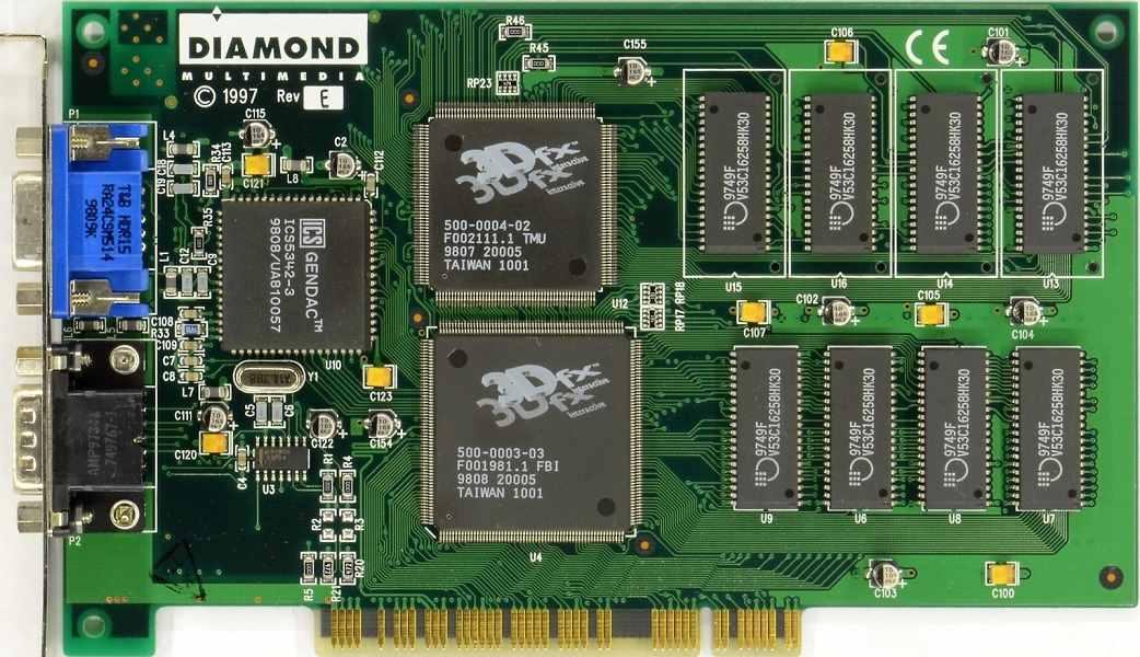 Cinco tarjetas gráficas 3D que cambiaron el mundo del gaming en PC 35