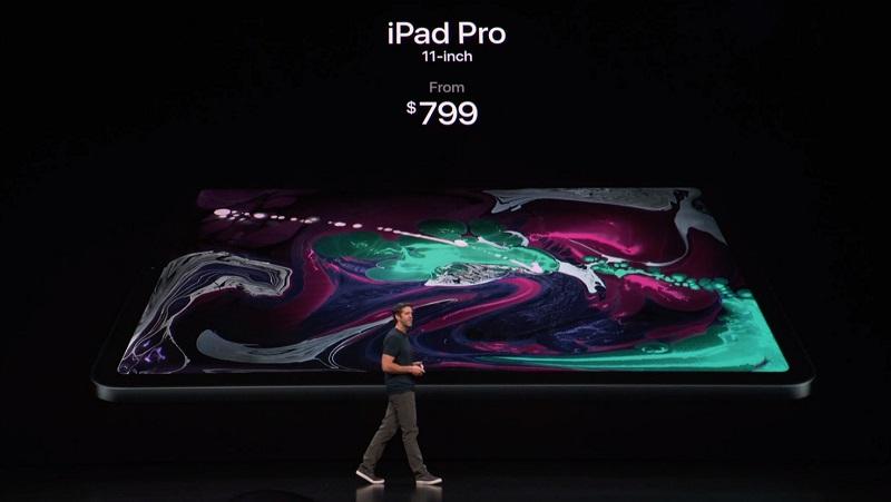 Apple presenta su nuevo iPad Pro 2018 107