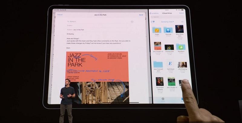 Apple presenta su nuevo iPad Pro 2018 55