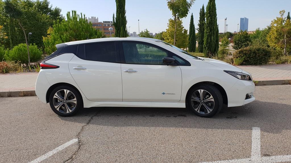 Nissan Leaf, la ruta 36