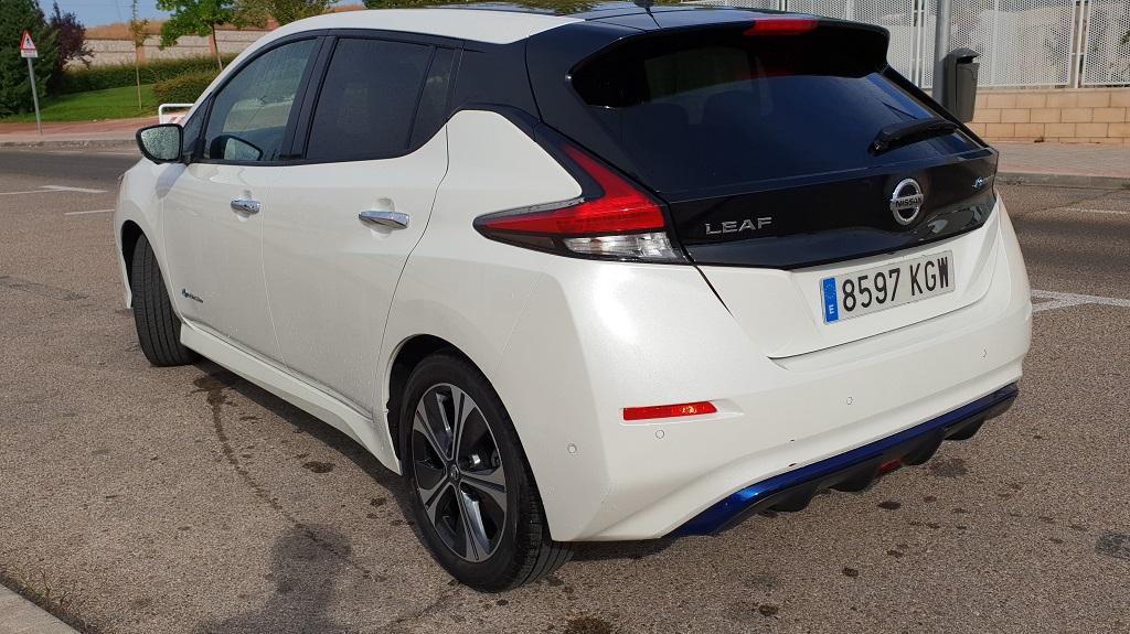 Nissan Leaf, la ruta 52