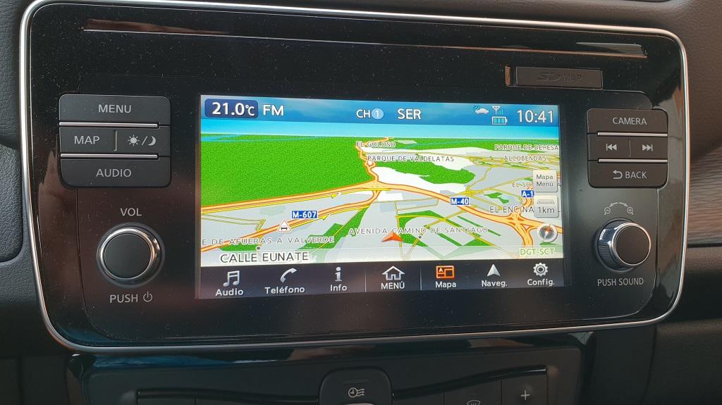Nissan Leaf, la ruta 40