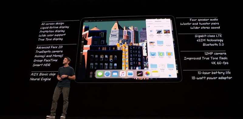 Apple presenta su nuevo iPad Pro 2018 103