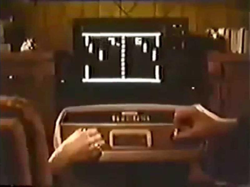 60 años primer videojuego Pong