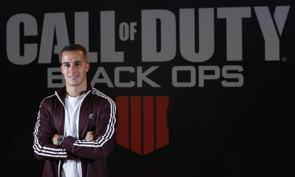 Call of Duty Black Ops IIII Lucas Vazquez Real Madrid