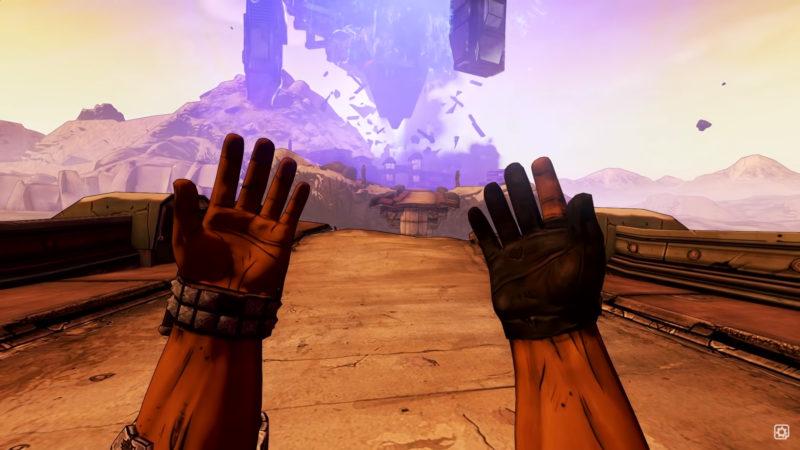 Borderlands 2 VR Manos