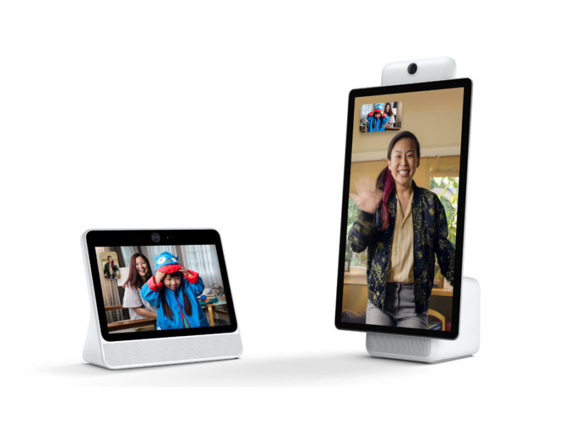 Portal, Facebook anuncia su hardware de videollamadas 32