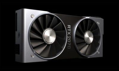 Rendimiento de la GeForce RTX 2070: un poco por encima de la GTX 1080 72