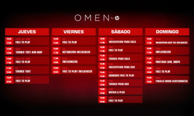 HP OMEN Madrid Gaming Week